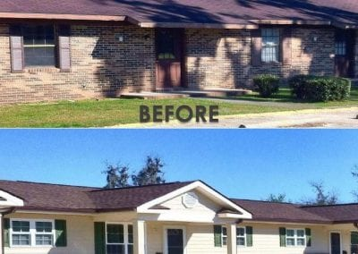 Village at Blackshear Before and After