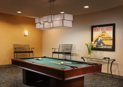 greystone apartments game room