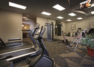 greystone apartment fitness center