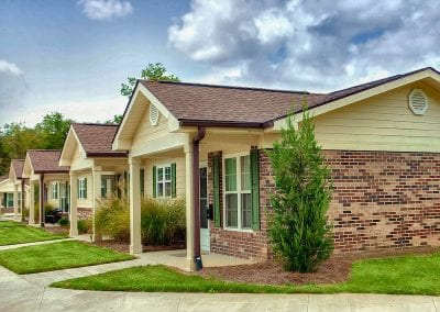 Village at Blackshear affordable homes