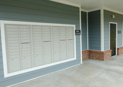 greenville apartment mailboxes